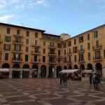 Der Mittelpunkt der Fußgängerzone in Palma de Mallorca.