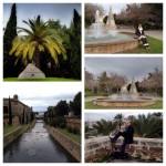 Zwischen der Strandpromenade und der Altstadt liegt ein hübscher kleiner Park mit viel Wasserspielen.