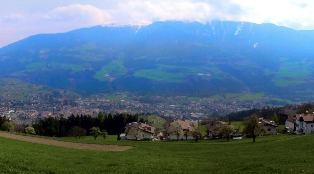Blick auf Brixen