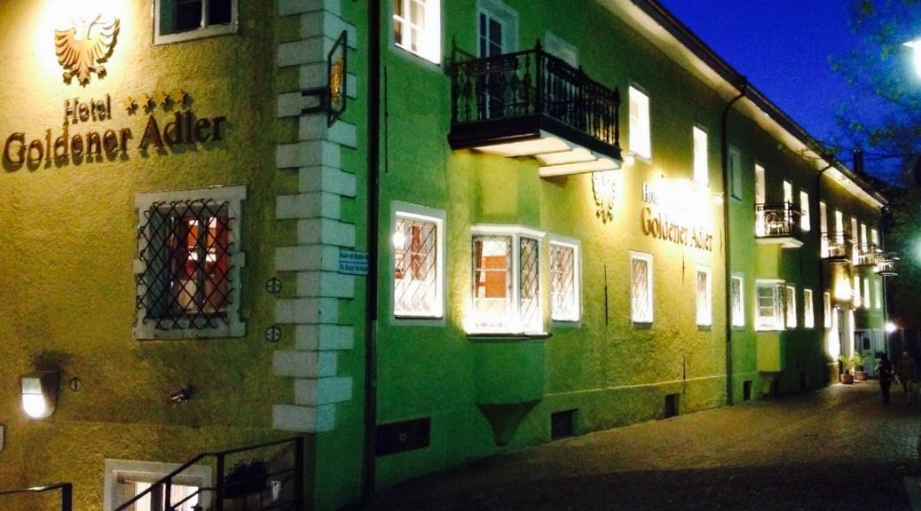 Hotel Goldener Adler in Brixen