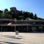 Das Kurhaus von Badenweiler und Burg Baden