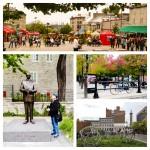Der schönste und lebendigste Platz in der Stadt. Und 2 ehemalige Bürgermeister - einer 1954 gewählt, der andere im selben Jahr geboren ... :o)