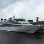 Ein Kreuzfahrtschiff aus Florida http://de.wikipedia.org/wiki/Seabourn_Cruise_Line