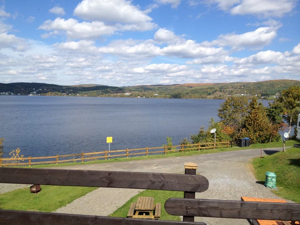 Am Lac Temiscouata machen wir Pause