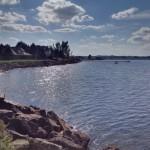 Mündung des Shediac River in den Atlantik