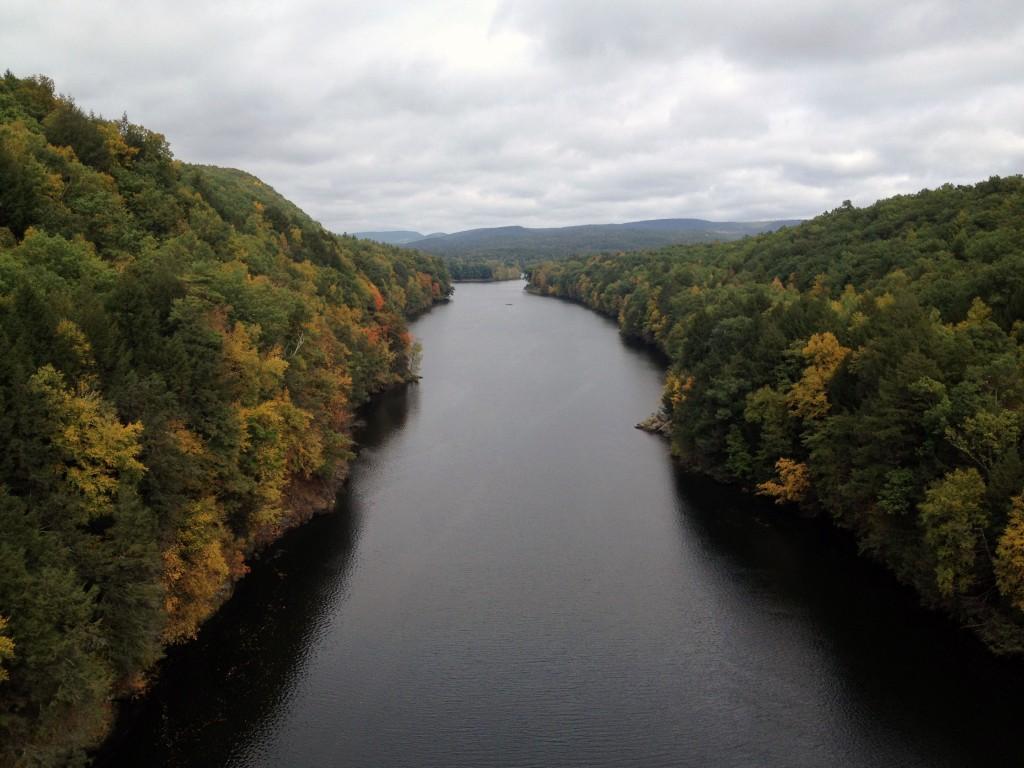 Brücke über den Connecticut River