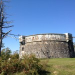 """Der """"Prince of Wales Tower"""" im Point Pleasant Park"""