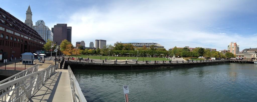 Boston am Hafen