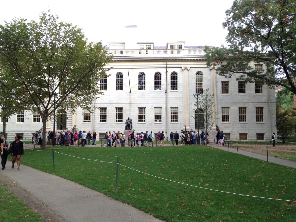 Das Universitäts-Verwaltungsgebäude