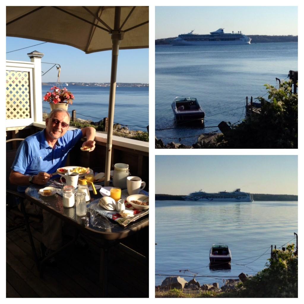 """Der zweite Morgen im Seawatch mit Frühstück und """"sea watch"""""""