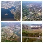 Anflug auf Boston