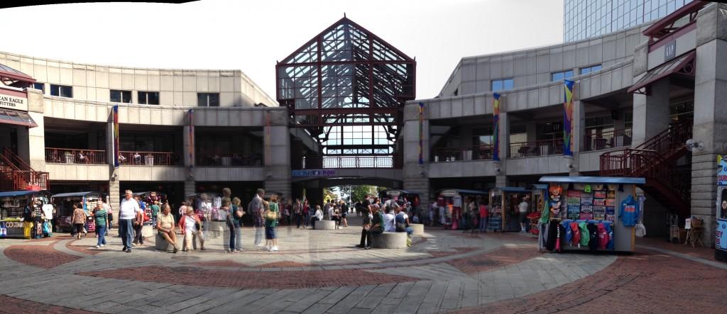 Verbindung zwischen Marktplatz und Hafen