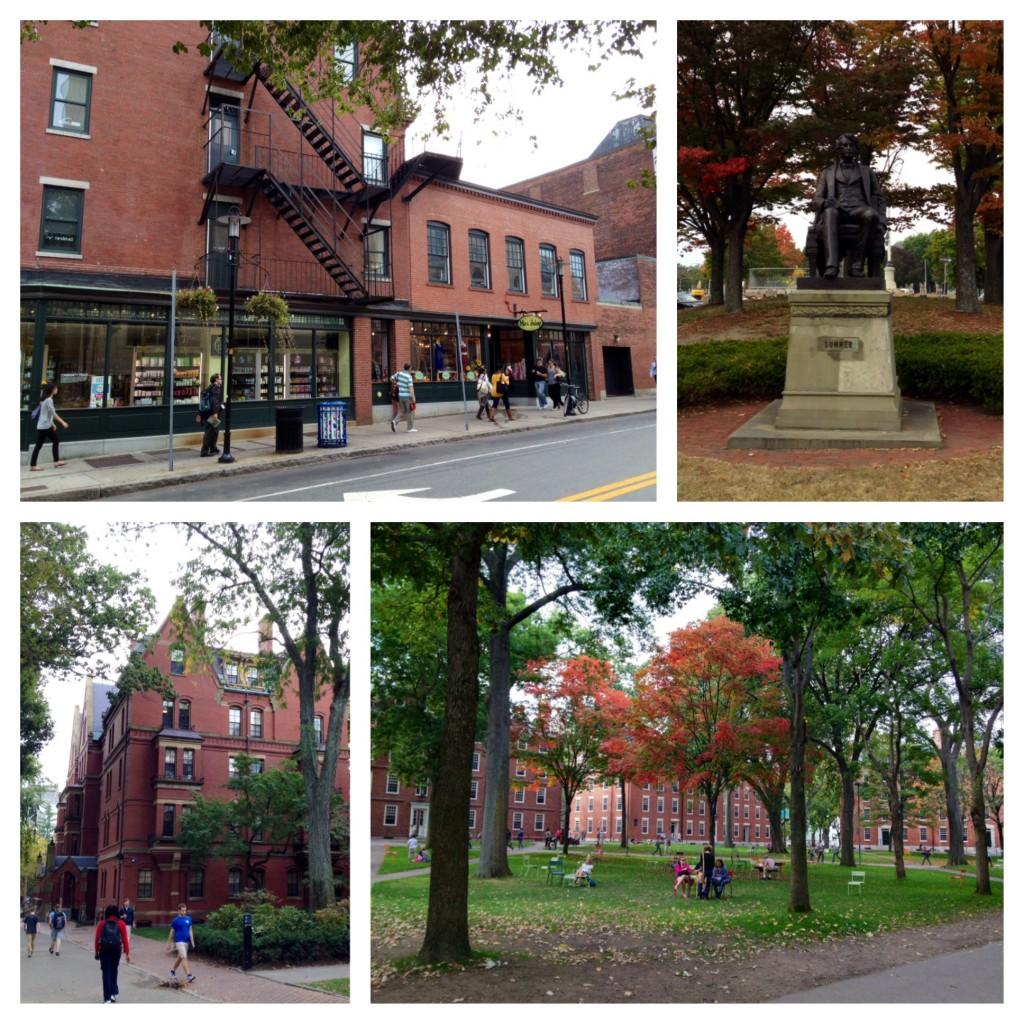 Cambridge und der Harvard Campus