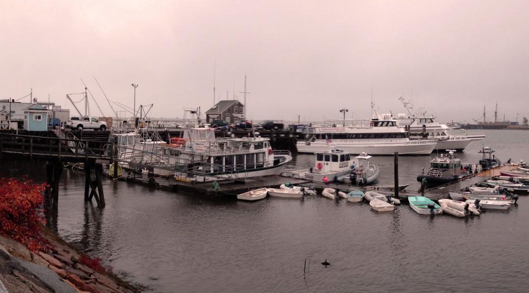 Der Hafen von Plymouth in Massachussets